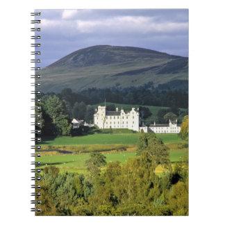 Escocia, Tayside, castillo de Blair. En una esmera Libretas Espirales