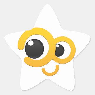 escoda fuero me pegatina en forma de estrella