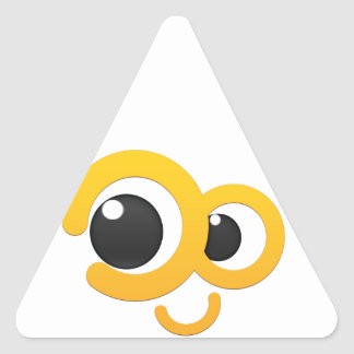 escoda fuero me pegatina triangular
