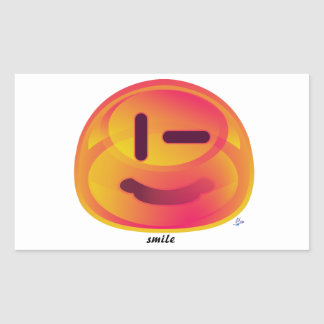 Escodas anaranjado - p' titoko pegatina rectangular