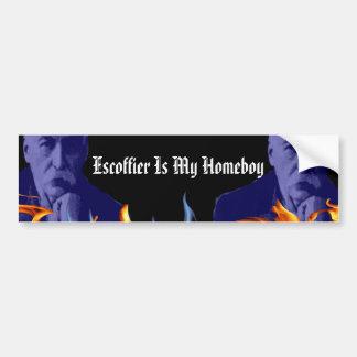 Escoffier Is My Homeboy Bumper Stickers