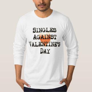 Escoge contra el día de San Valentín Playera