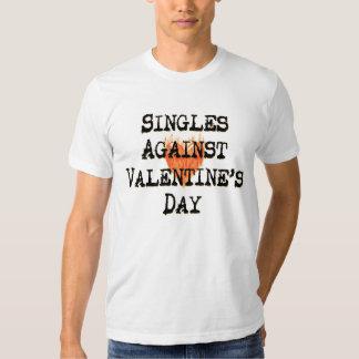Escoge contra la camiseta del el día de San Remera