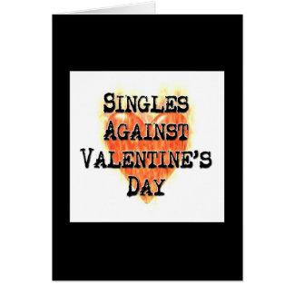 Escoge contra tarjetas del el día de San Valentín
