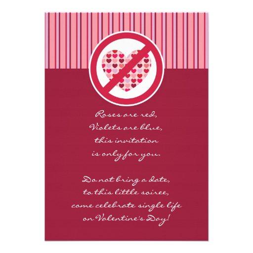 Escoge la invitación del el día de San Valentín de