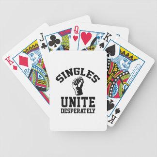 Escoge unen desesperadamente cartas de juego