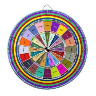 Escogedor del código del maleficio del color de