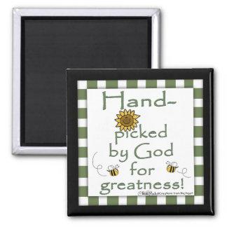 Escogido a dedo por la Dios-Flor y la abeja Iman De Nevera