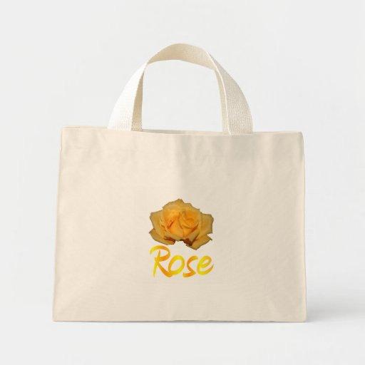 """Escoja el rosa amarillo con """"subió"""" en amarillo y  bolsa tela pequeña"""