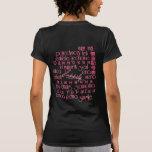 Escoja feliz en todo el mundo/puesta del sol de la camiseta