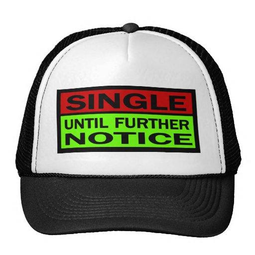 Escoja hasta nuevo aviso, rojo y verde gorras