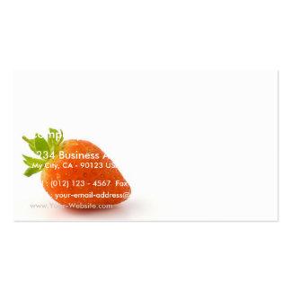 Escoja la hoja septentrional coloreada del roble r tarjetas de visita