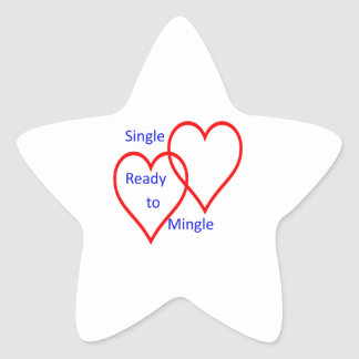 Escoja listo para mezclar pegatina en forma de estrella