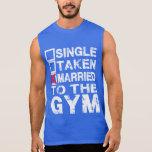 Escoja llevado casado la camisa del gimnasio para