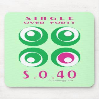 Escoja sobre 40 (So40) Mousepad Alfombrillas De Ratón