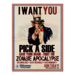 Escoja un poster lateral del tío Sam