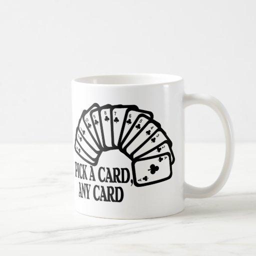 Escoja una tarjeta taza