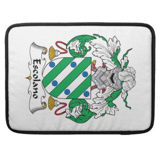 Escolano Family Crest MacBook Pro Sleeve