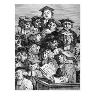 Escolares en una conferencia, el 20 de enero de tarjetas postales