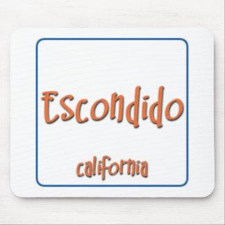 Escondido California BlueBox Mouse Pad