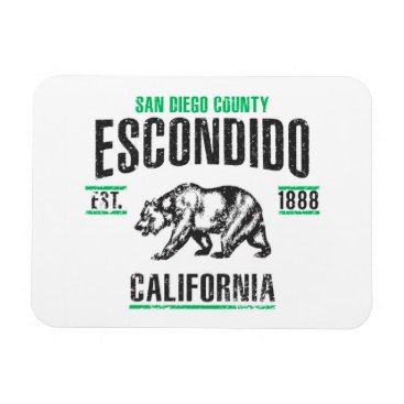 USA Themed Escondido Magnet