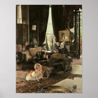 Escondite, c.1880-82 póster