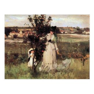 Escondite de Berthe Morisot Postales