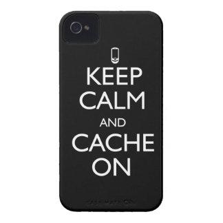 ¡Escondrijo encendido! Case-Mate iPhone 4 Carcasas