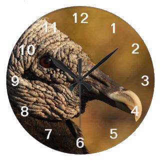 Escondrijos y grietas reloj redondo grande