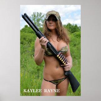 "Escopeta"" poster (24"" de Kaylee Rayne- ""x36"")"