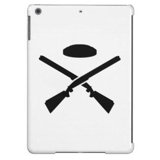 Escopetas cruzadas del tiroteo de trampa funda para iPad air