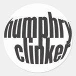 escoria humphry:: pegatina del logotipo