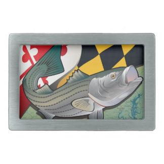 Escorpina del ciudadano de Maryland Hebillas Cinturón Rectangulares