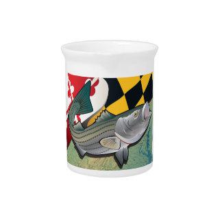 Escorpina del ciudadano de Maryland Jarras Para Bebida