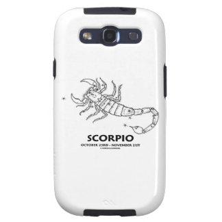 Escorpión 23 de octubre - 21 de noviembre samsung galaxy s3 protectores