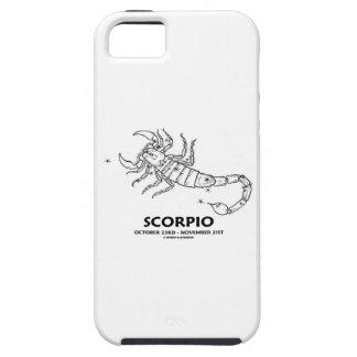 Escorpión 23 de octubre - 21 de noviembre iPhone 5 protectores