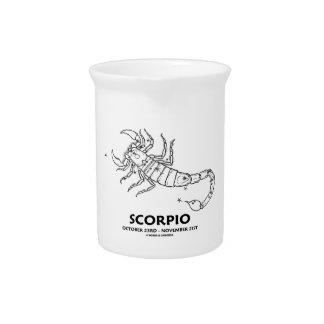 Escorpión (23 de octubre - 21 de noviembre) jarras