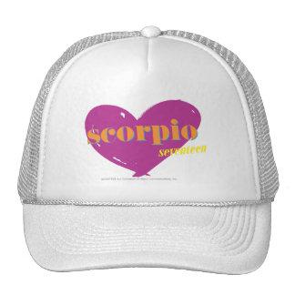 Escorpión 2 gorras