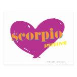 Escorpión 2 postales