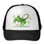 Escorpión 3 (estrellas) gorras