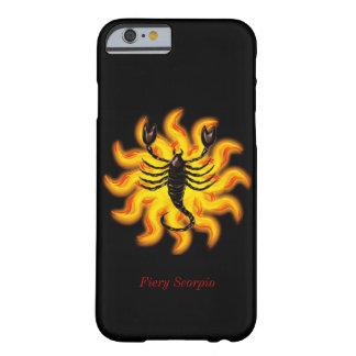 Escorpión ardiente funda barely there iPhone 6