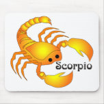 Escorpión caprichoso Mousepad Tapete De Raton