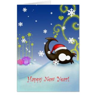 Escorpión de la Feliz Año Nuevo Tarjeta De Felicitación
