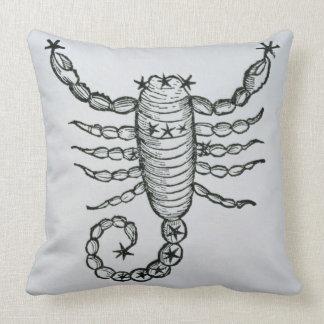 Escorpión (el escorpión) un ejemplo del 'P Almohadas