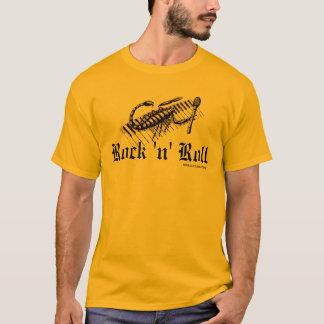 Escorpión en la camiseta del gráfico de la música