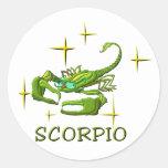 Escorpión (estrellas) etiqueta