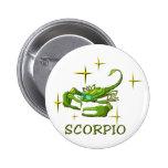 Escorpión (estrellas) pin