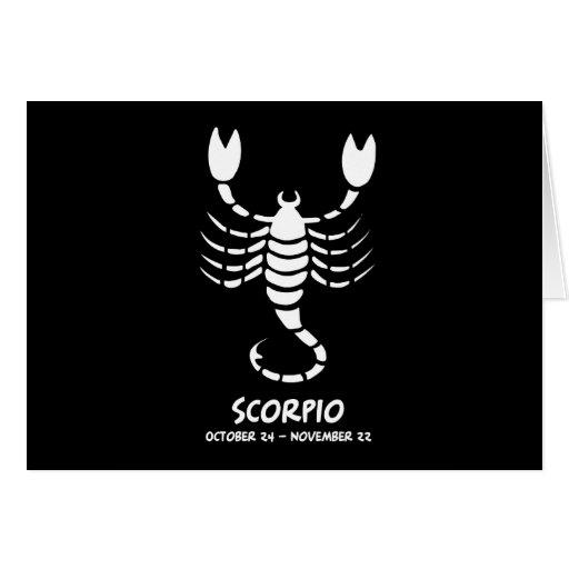 Escorpión Felicitación