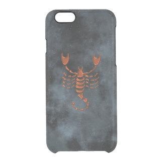 Escorpión Funda Clear Para iPhone 6/6S