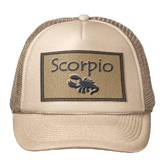 Escorpión Gorros